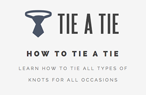 How to Tie a Necktie or Bowtie
